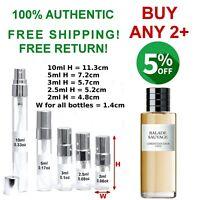Balade Sauvage Christian Dior EDP men perfume sample travel size 2~2.5~3~5~10ml