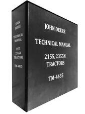 2355N John Deere Technical Service Shop Repair Manual HUGE BOOK
