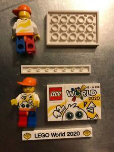LEGO WORLD Copenhagen 2020 set figure, puzzl and bar