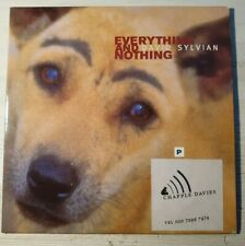 David Sylvian ‎Everything And Nothing  Card CD Promo Album Sampler 4 Track NM/NM