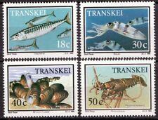 Transkei 1989 Mi 238-241 Zeedieren, Food from the sea MNH