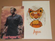 Tyler Stout Agnes Fantastic Mr Fox Poster Print Handbill Stickers Art
