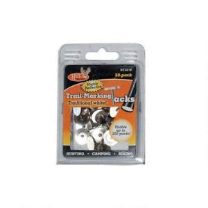 HME Reflective Tacks White 50 Pack