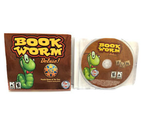 PC Game - Mumbo Jumbo Pop Cap - Book Worm Deluxe - Complete - Tested - Working