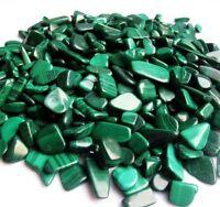 50g Bulk Tumbled Natural Malachite Stones Gemstones Reiki Healing Crystal