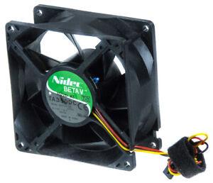 NIDEC M35105-58 3-PIN 5700RPM BALL 12V 1.8A