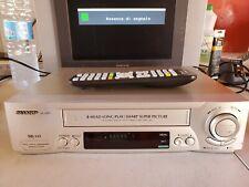 VIDEOREGISTRATORE VHS SHARP VC-M50 COMPLETAMENTE REVISIONATO + TELECOMANDO NUOVO