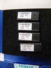 SIEMENS PL EA EPROMS ~ VERSION 25.06.2001 ~ PART #00344768-02 MVS 2185E