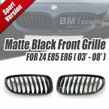 Matt Black Kidney Front Mesh Grille Nose for BMW Z4 E85 E86 2003-2008 Genuine OE