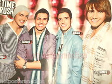 Sexy german Big Time Rush Poster wow tolle Boy Band keep smiling nice guys