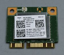 More details for hp probook 455 g2 plug in wifi card - 752601-001