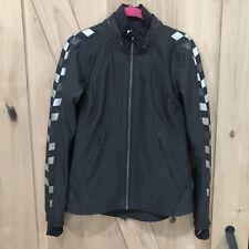 LULULEMON Feelin' Frosty Softshell Insulated Jacket Black Reflective Size 4 RARE