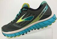 Brooks Ghost 9 Running Shoes Grey Blue Training Athletic Sneakers Womens 9.5 B