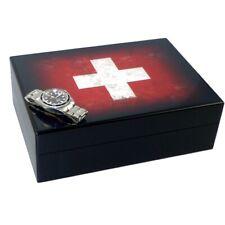 Uhrenbox BULLONGÈ SWISS VINTAGE für 6 Armbanduhren