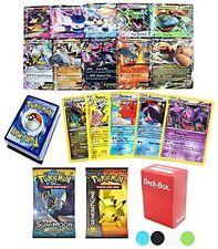 36 Pokemon Card 2 Booster Pack EX Starter Elite Trainer Kit Lot Free Deck Box Ra