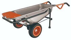 WORX Aerocart 8-in-1 All Purpose Wheelbarrow, Trolley,Cart, Dolly, cartage