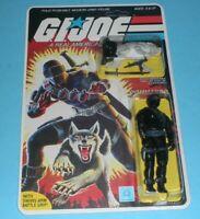 1985 GI Joe Snake Eyes v2 Complete Sealed MOC *CUSTOM* File Card Back *READ*