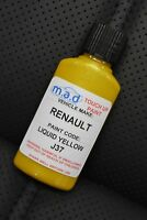 RENAULT LIQUID YELLOW CODE J37 Renaultsport Clio PAINT TOUCH UP KIT 30ML 182 CUP