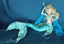 """Huge 40"""" Mermaid Porcelain Doll Show Stoppers Florence Maranuk Limited Edition"""
