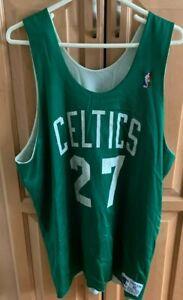1990's Boston Celtics Reversible Practice Worn Jersey NBA #27