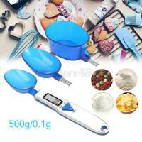LCD Digital Scale Measuring Spoon 500g Capacity Food Weighing Kitchen Device e