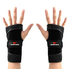Cycling Protective Mitts Ski Wrist Guard Skateboard Guard Half-Finger Gloves