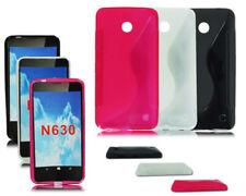 Fundas Para Nokia Lumia 630 de silicona/goma para teléfonos móviles y PDAs