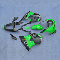 Green ABS Fairing Bodywork Set Fit For Kawasaki Ninja ZX6R 1998-1999 98 99 NEW