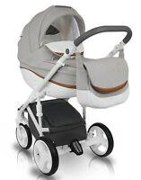 Baby Pram Bexa IDEAL NEW Pushchair Buggy Stroller + Car Seat, Travel System 4in1