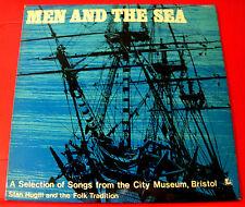 Stan Hugill/Folk Tradition Men And The Sea LP+INSERT 1971 PRIVATE Shanties VINYL