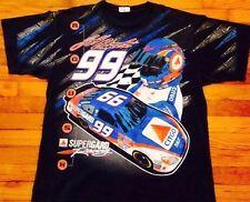 Vtg Jeff Burton Tshirt Nascar Daytona All Over Print Racing Winston Cup XL