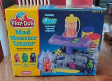 Vintage PlayDoh Mad Monster Creator Glow In Dark Mummy Creature Robots MiSB 1994