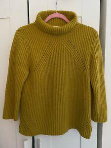 Ladies MONSOON Jumper Warm Wool Mohair Mix Winter Chunky Knit  UK 12