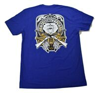 Omit Mens Bear Country Blue Tee Shirt New L