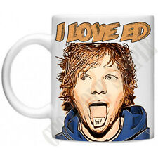 I Love Ed Sheeran Inspired Divide Music Memorabilia Celebrity 11oz Mug Gift