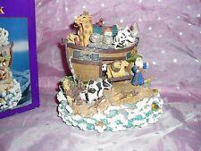 "Nib, ""Classic Treasures Musical Animated Noah'S Ark Music Box"", Noah & Lion move"