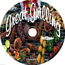 Great Grill Book cd Recipes Cookbook Grilling Outdoor Weber Barbecue BBQ Easy