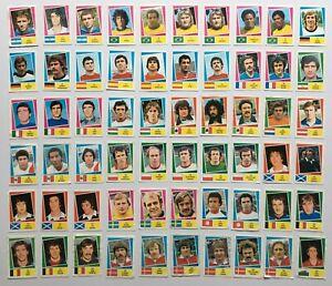 FKS Publishers Argentina 78 - 60 x Soccer Stickers inc Platini, Zoff & Krankl