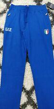 BRAND NEW Genuine Emporio Armani blue Italy tracksuit bottoms Size M
