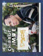 Star Wars Card Trader Movie Vision Signature Gold Chirrut Imwe Donnie Yen