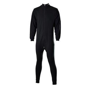 Sher Wood einteilige Unterwäsche Schwitzanzug Senior & Junior schwarz 8400
