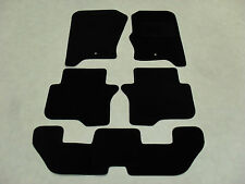 Land Rover Discovery 4 2010-on Fully Tailored Car Floor Mat Set in Black