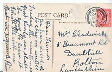 Genealogy Postcard - Family History - Chadwick - Bolton - Lancashire   U2374