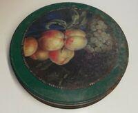 Rare Boîte en métal Delacre , Vintage, décoration, ronde