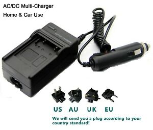 Charger for Sony NP-FP50 Handycam DCR-DVD92E DCR-DVD105 DCR-DVD105E Battery