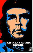 Political cuban POSTER.GUEVARA Victory America.Che 11.Revolution Art Design