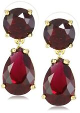 Kate Spade AUTHENTIC PLAZA ATHENEE BERRY RUBY PINK DANGLE DOUBLE DROP EARRINGS
