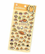 Gudetama  Sticker 1 Sheet - The Lazy Egg - Japanese Stickers  Orange