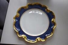 "Rare Coalport 9"" Scalloped Sheffield Dessert Plate Athlone BluePattern 1970-93"