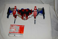 Transformers Energon Wing Saber 100% complete with instructions and missiles!!